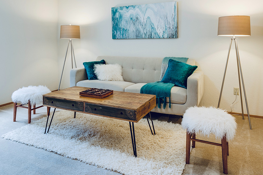 Living-room-with-clean-carpet