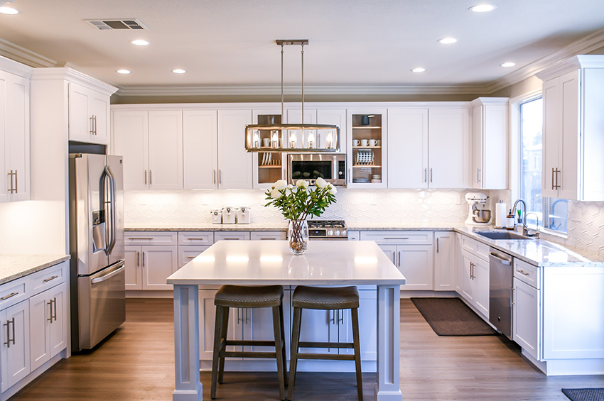 Should Your Kitchen Cabinets Match Your Flooring