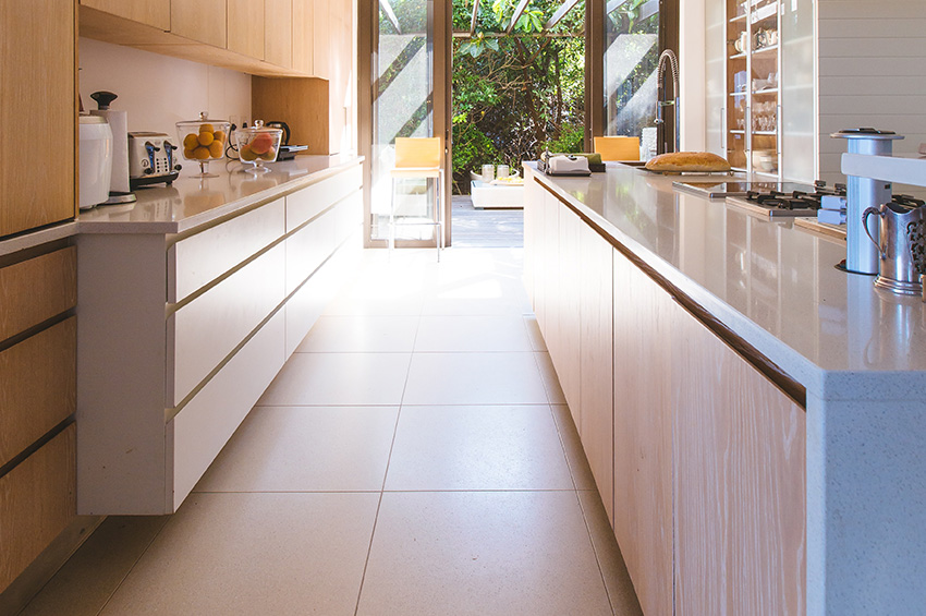 tile-flooring-in-galley-kitchen