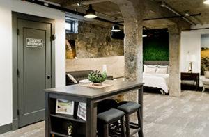 rubber-flooring-basement-room
