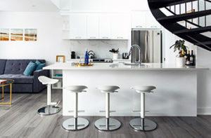 grey-laminate-flooring-in-modern-kitchen