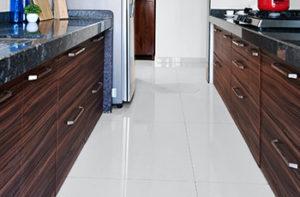 large-white-tile-flooring-in-kitchen
