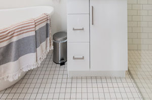 white-bathroom-tile-flooring