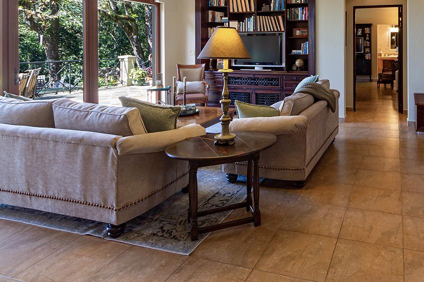 How To Choose The Best Stone Floors For, Tile Floors In Living Room