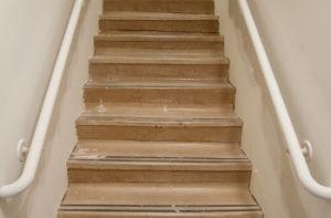 subfloor-of-wood-stairs