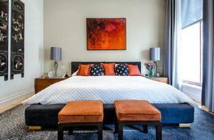 bedroom-bold-blue-carpet