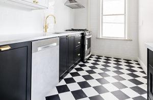 black-and-white-kitchen-tile