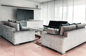 pink-tile-living-room