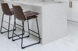 white-granite-tile-floors-in-kitchen