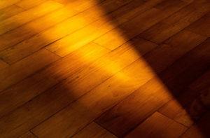 Hardwood flooring planks